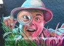 Street art by Woskerski
