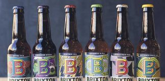 Brixton Brewery beer bottles