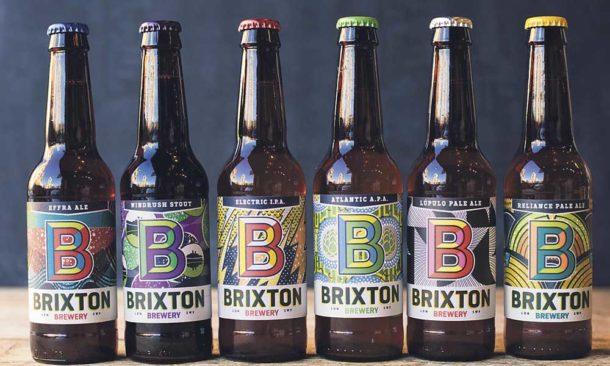 Brixton Brewery beer bottles