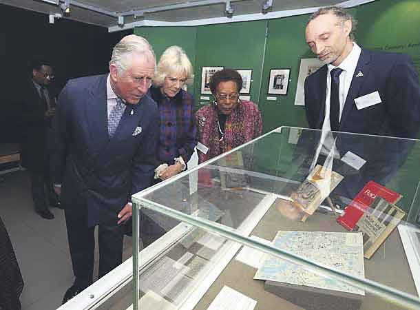 Dawn Hill and Paul Reid with Prince Charles and Camilla, Duchess of Cornwall at the BCA