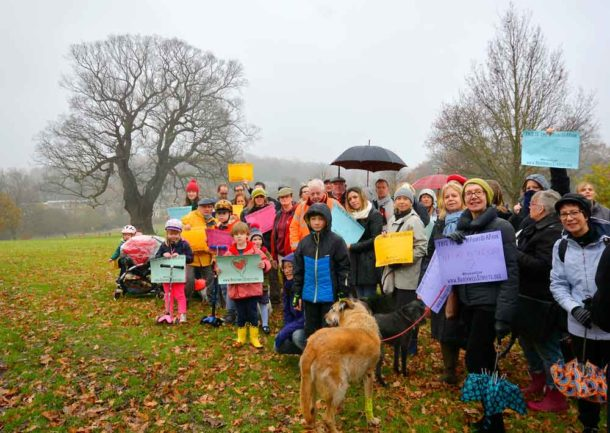 Residents campaigning to protect Brockwell Prk