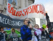 Cressingham protest Lambeth town hall