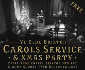 Carols, jazz, sword-dancing and Senegalese food @ Effra Road Chapel | England | United Kingdom