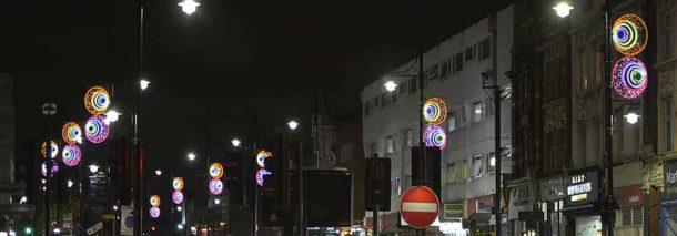 Lights on Acre Lane