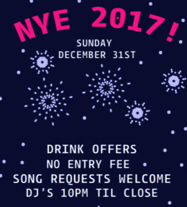 New Year's Eve @ Elm Park Tavern | England | United Kingdom