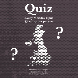 Quiz with Tommy McTrivia @ The King&Co | England | United Kingdom