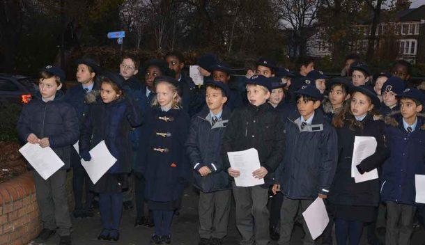 Corpus Christ school singers