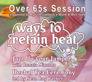 Over 65s workshop - ways to retain heat @ Brixton Pound Cafe | England | United Kingdom