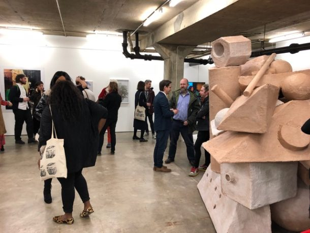 New Contemporaries private view