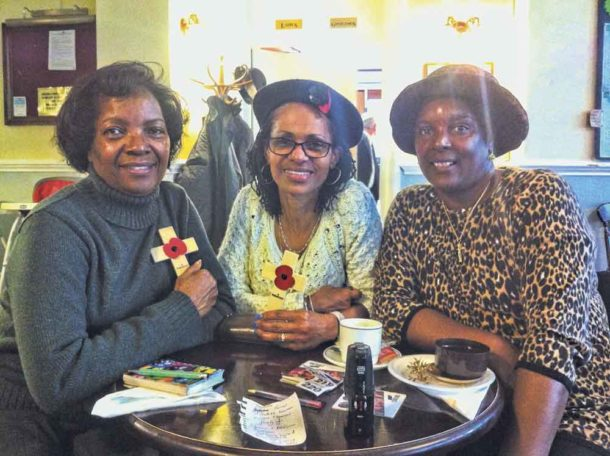 Timothea and Judith Fevrier and Esther Marcelle