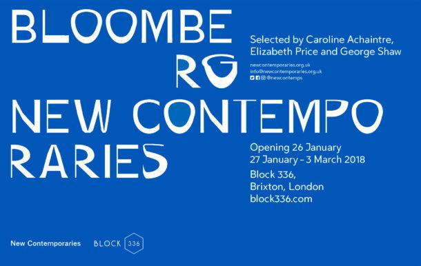 New Contemporaries Block 336 flyer
