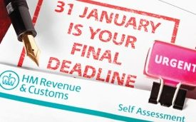 Flyer for Tax return course
