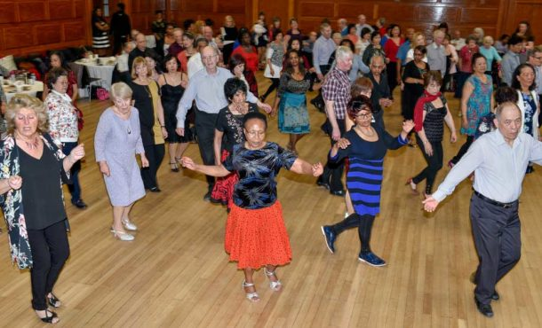 Tea Dance at Lambeth Town Hall