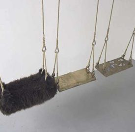 New Contemporaries Exhibition. Mostram's swings