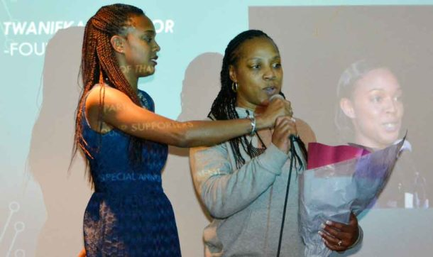 Twanieka Alcindor introduces her mother Michelle