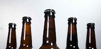 Canopy Bagel Beer bottles