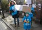 Children library protesters