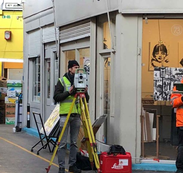 Surveyor in Brixton Market
