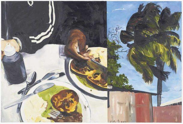 Michaela Yearwood Dan's oil on canvas