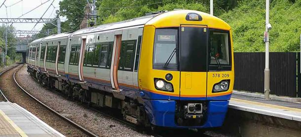 Overground train. Picture: Clive G'