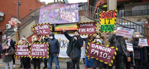 Potent Whisper addresses protesters