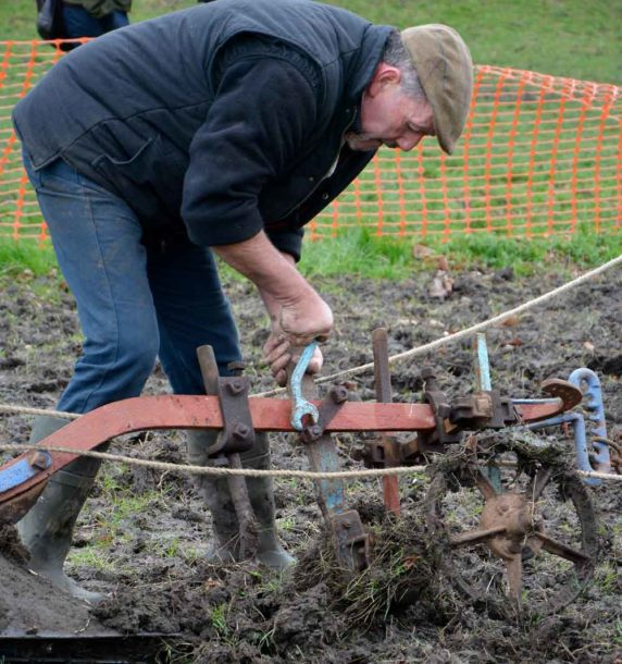 Minor adjustment – there's more to ploughing than walking behind horses