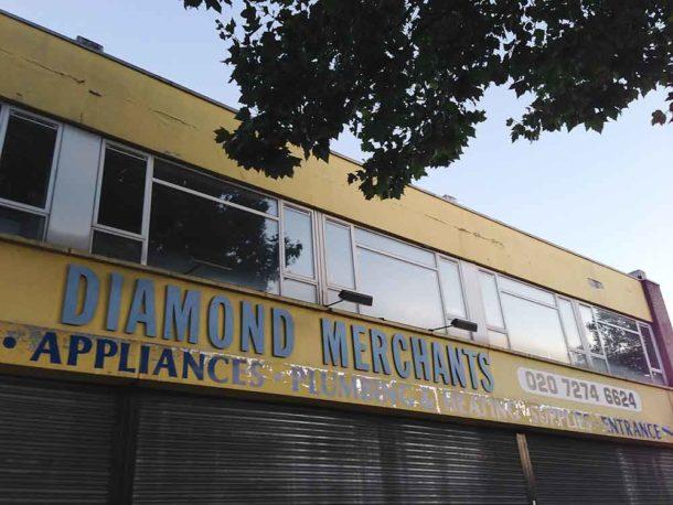 Fascia of Diamond plumbers Acre Lane