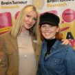 Eva Haftmann (right) with Caprice Bourret
