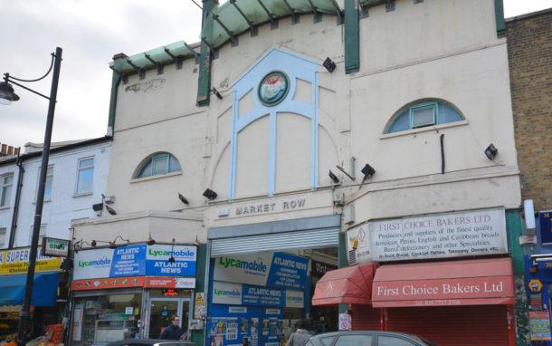 Brixton Market Row exterior