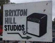 Brixton Hill Studios sign