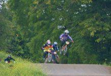 BMX racing in Brockwell Park