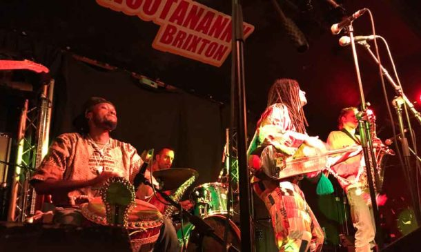 Simo Lagnawi Simolagnawi with Gnawa London at the Hootananny