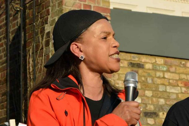 Claudia Webbe, a member of the Labour Party's National Executive Committee, said prime minister Theresa May had apologised for what had happened, but not for the racist immigration policies that caused the suffering