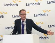Lambeth acting chief executive Andrew Travers