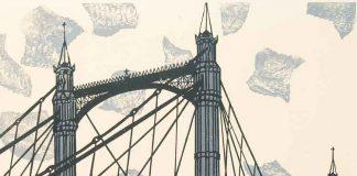 Albert Bridge, 1966 Trustees of the Cecil Higgins Art Gallery (The Higgins Bedford), © Estate of Edward Bawden