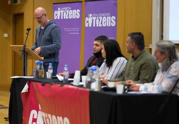 Clash over rogue landlords as politicians back Lambeth Citizens manifesto