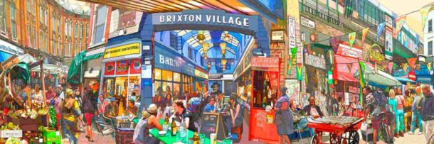 Brixton Village by exhibitor Louisa Cookson