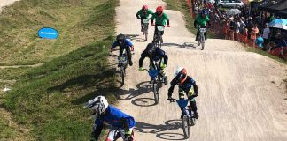 BMX London Youth games riders for Brixton BMX Club
