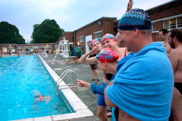 Brockwell Lido Spring relay race 2018