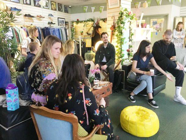 Barnardo's shop Brixton