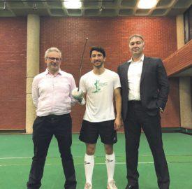 Brixton Fencing Chris Tidmarsh, Paul Sanchez Lethem and Dmitry Leus at Brixton Rec