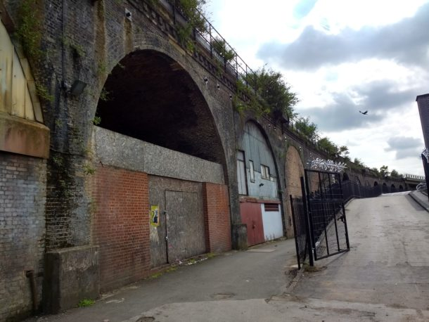 Valentia Place arches
