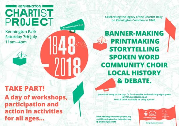 Chartist Project flyer