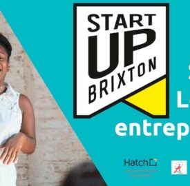 Ad for one day entrepreneurs course StartUp Brixton 23 June 2018