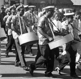 Steel Band marches south London
