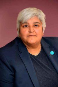 Zaiba Qureshi, chief executive of the Brixton-based Housing for Women charity