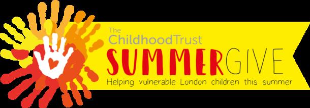 Childhood Trust Summer Give logo