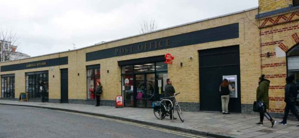 The new community Post Office – all it lacks is an exterior post box