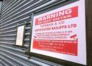 Bailiff's notice on Fancy Funkin Chicken, Brixton