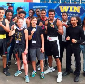 Miguel's Gym team at the 2018 Haringey Box Cup